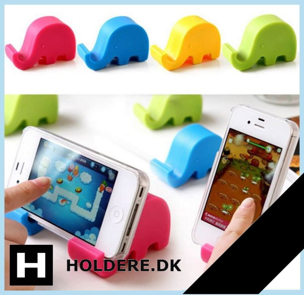 Mobil- og tabletholder – Elefant